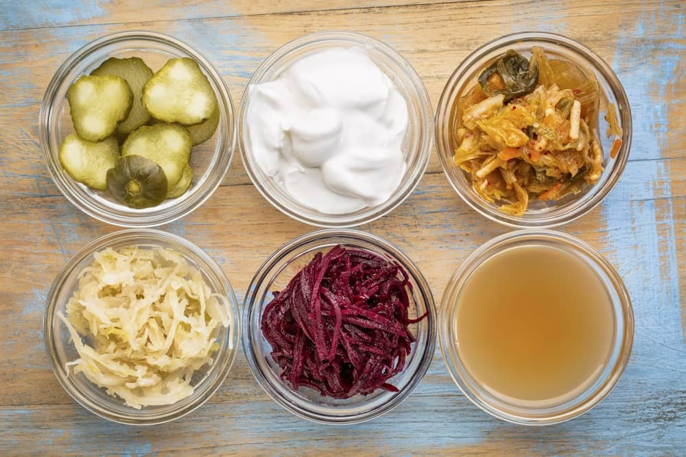 set of fermented food great for gut health