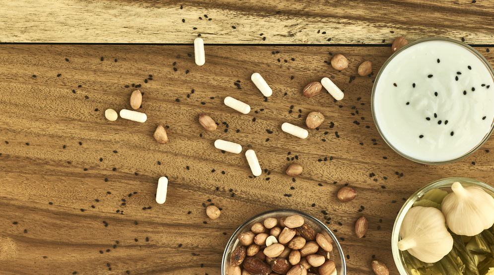 Probiotic supplements and food